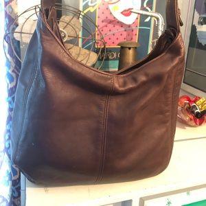 Coach vintage leather bag